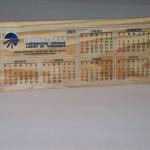 Calendario Pino Blanco-White Pine Calendar2