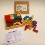 Rompecabezas de Construcción T y Z (48 piezas) - Building Puzzle T & Z (48 pcs)